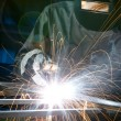 Welding — Stock Photo #9136357