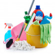 Group of cleaning products — Stock Photo #9155108