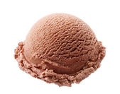 Chocolate ice cream — Stock Photo