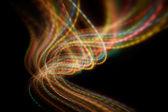 Blurred motion light — Stock Photo
