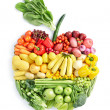Stock Photo: Apple: healthy food