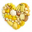 Stock Photo: Yellow healthy food
