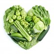 Stock Photo: Green healthy food