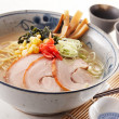 Tongkotsu ramen - Stock Photo