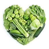 Green healthy food — Stock Photo