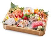 Mixed sashimi — Stock Photo
