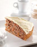 Carrot cheesecake — Stock Photo