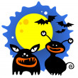 Halloween monsters — Stock Vector #10271858