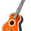 Stock Photo: acoustic guitar