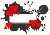 Valentines frame — Stock Photo