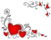 Valentines patroon — Stockfoto