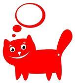 Glad katt — Stockfoto