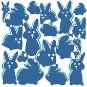 ウサギの背景 — ストック写真