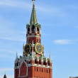 Spassky tower of the Moscow Kremlin — Stock Photo #10375634