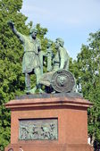 Monument to Minin and Pozharsky — Stock Photo