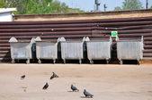 Garbage tanks — Stock Photo