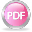 PDF ICON — Vector de stock #10558141