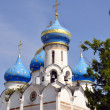 Church of the Descent of the Holy Spirit on apostolov. — Stock Photo