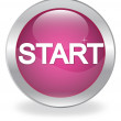 "Stock Vector: The button labeled ""START"""