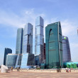 Business center Moscow-City — Stock Photo