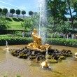 Stock Photo: Triton fountain, Peterhof