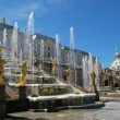 ストック写真: Grand Cascade Fountains At Peterhof Palace