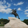 The Bronze Horseman monument — Stock Photo
