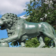 Lion sculpture in Saint Petersburg — Stock Photo #9207956