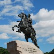 The Bronze Horseman monument — Stock Photo #9208056