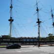 Stock Photo: Sailing ship in St. Petersburg
