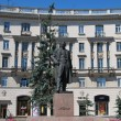Stock Photo: Monument to Gorkiy