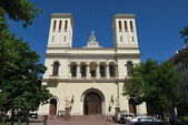 Luteránský kostel svatého pitere v st.petersburg — Stock fotografie