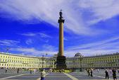 宫广场、 圣彼得堡俄罗斯 — 图库照片