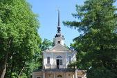 Znamenskaya church in Tsarskoye Selo — Stock Photo