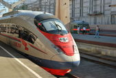 High-speed commuter train — Stock Photo