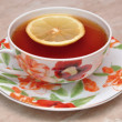 Royalty-Free Stock Photo: Cup with tea and lemon
