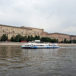 Moscow river cruise boat - Foto de Stock  