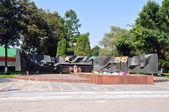 Monumento da memória das vítimas na segunda guerra mundial — Foto Stock