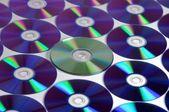 Discos cd. — Fotografia Stock