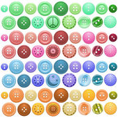Button collection — Stock Vector