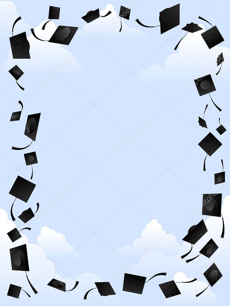 Graduation frame — Stock Vector © bigldesign #8606666