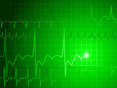 EKG background — Stock Vector