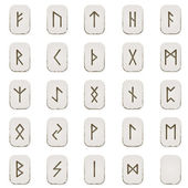 Set of Runes — Stock Vector