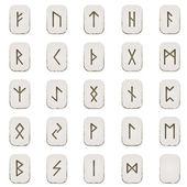 Set of Runes — Stock Vector