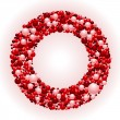 Bead wreath — Image vectorielle