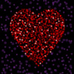 Light heart — Stock Vector