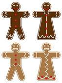 Gingerbread — Vettoriale Stock