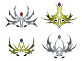 Crown designs — Stock Vector