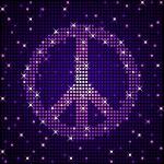 Disco peace — Stock Vector #9581618