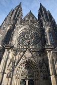 St.vitus 大教堂-布拉格 — 图库照片